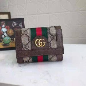 GG Sherry Small Wallet Canvas